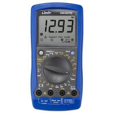 Limit 500 AUTO Multimeter inkl. batterier