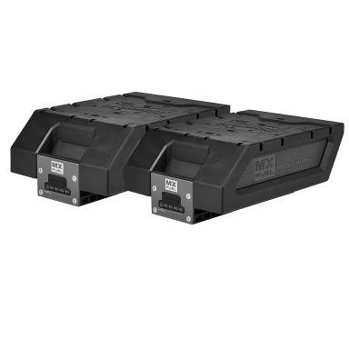 Milwaukee KIT MXF XC-2406 Ladepakke to batterier