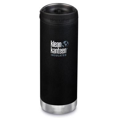 Klean Kanteen Wide Insulated Termospullo 473 ml, musta