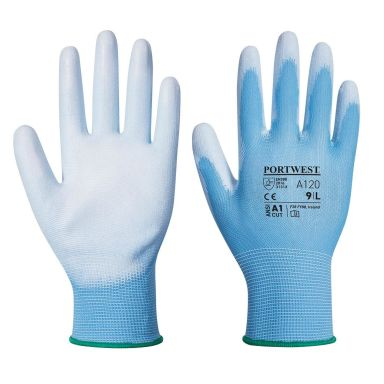 Portwest A120 Handske blå, PU