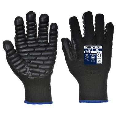Portwest A790 Antivibrationshandske svart