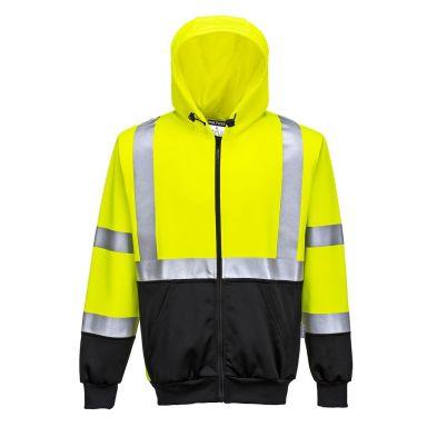 Portwest B315 Luvtröja Hi-Vis gul/svart