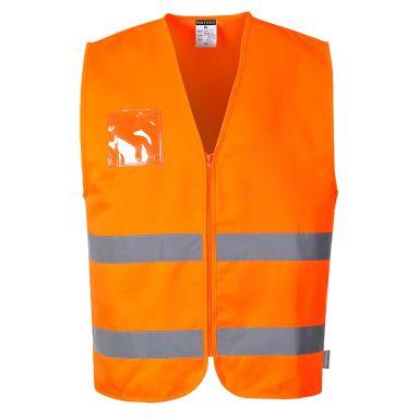 Portwest C497 Väst Hi-Vis orange