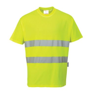 Portwest Comfort T-skjorte Hi-Vis gul