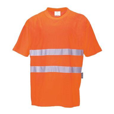 Portwest Comfort T-skjorte Hi-Vis oransje