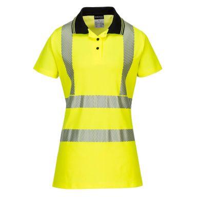 Portwest LW72 Pikéskjorte Hi-Vis gul