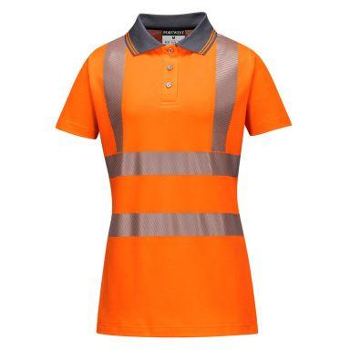 Portwest LW72 Pikéskjorte Hi-Vis oransje