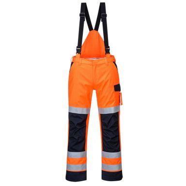 Portwest MV71 Bukse Hi-Vis oransje, flammehemmende
