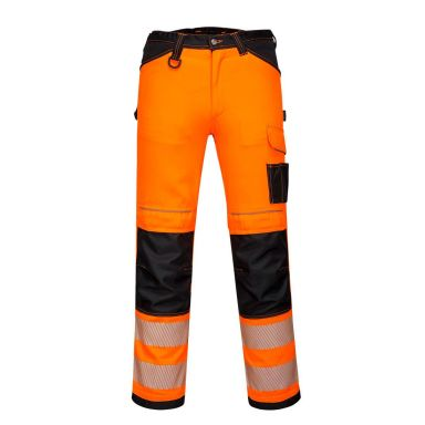 Portwest PW3 Arbeidsbukse Hi-Vis oransje