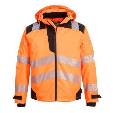 Portwest PW3 Regnjacka Hi-Vis orange, andningsbar