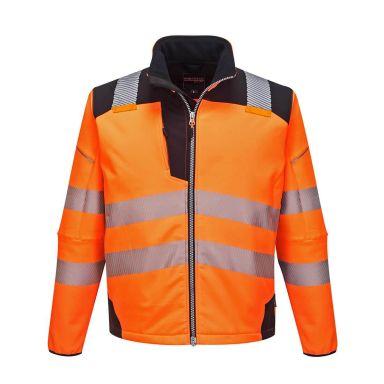 Portwest PW3 Softshelljacka Hi-Vis orange