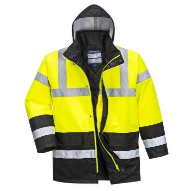 Portwest S466 Jacka Hi-Vis gul/svart