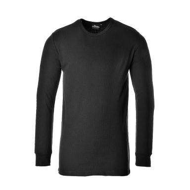 Portwest Termisk T-skjorte svart, langermet