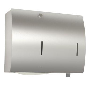 Franke STRX601 Pappersbehållare för väggmontage, med tvålbehållare