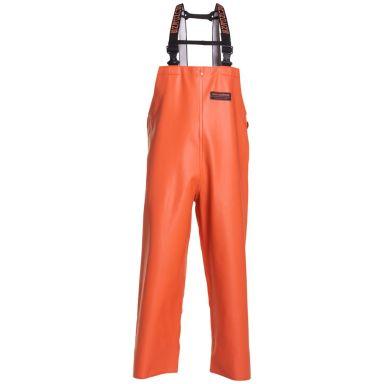 Grundéns 10096-800-0015 Herkules 16 Hängslebyxa orange, vattentät, slitstark