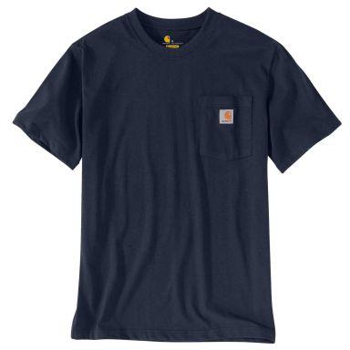 Carhartt 103296412-S T-Shirt blå