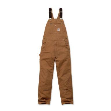 Carhartt Bib Overall Hängselbyxor brun