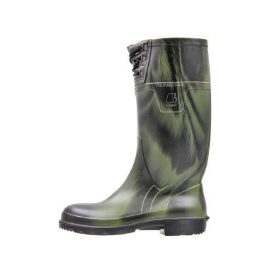 Sievi Light Boot Camo O5 Yrkesstövel svart/grön