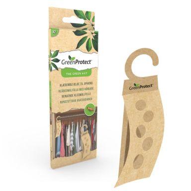 Green Protect 23623 Insektsfälla för klädesmal, 2-pack, hängande