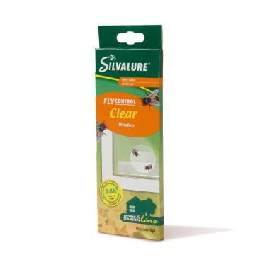 Silvalure Window Clear Flugfälla 10-pack