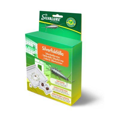 Silvalure 6566-012 Silverfiskfälla 2-pack