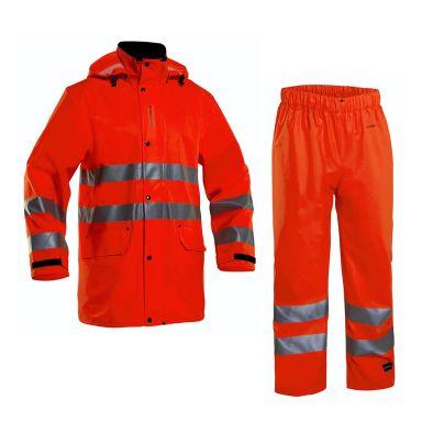 Grundéns 10182-820-0012 Pegasus Regnställ orange, vattentät, varsel