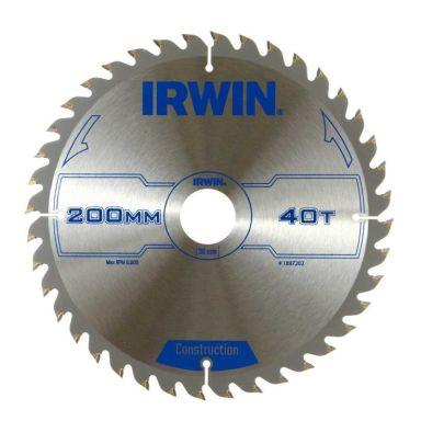 Irwin 1897202 Sagklinge Ø 200 mm, 40T