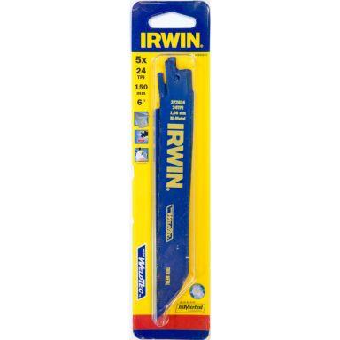 Irwin 10504154 Tigersagblad 150 mm, 24 TPI, 5-pakning
