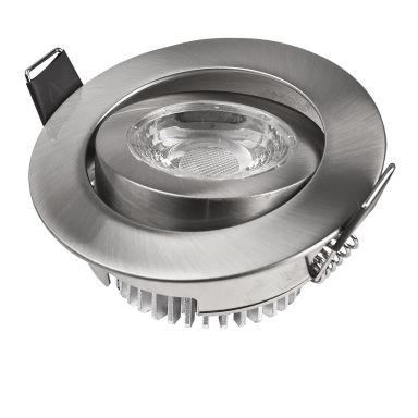 Designlight DB-223NM Downlight LED, 5 W, dimbar, med driver
