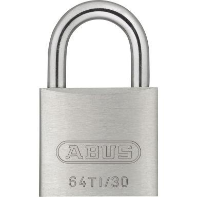 ABUS 64TI/30 Hengelås 30 mm, titalium, 2-pakk