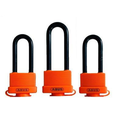 ABUS AquaSafe70IB Hengelås rustfri, lik lås, 3-pakk