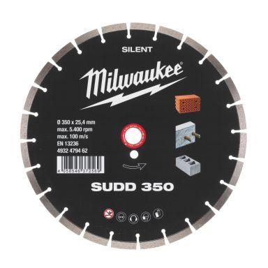 Milwaukee 4932479462 SUDD SILENT Diamantkappskive Skivediameter 350 mm