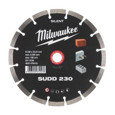 Milwaukee 4932479463 SUDD SILENT Diamantkappskive Skivediameter 230 mm