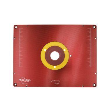 MarMan Tools IP1.0-UND Innleggsplate for freser, 306 x 229 x 9 mm