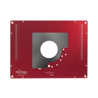 MarMan Tools IP2.0-B Innleggsplate for freser, 306 x 229 x 9 mm