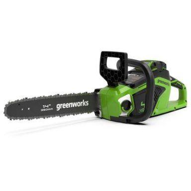 Greenworks GD40CS15 Motorsag 40V, 1,5kW, uten batteri og lader