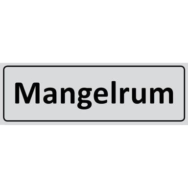 UniGraphics 6705331 Skylt Mangelrum, 225 x 80 mm