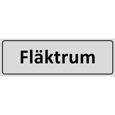 UniGraphics 6705336 Skylt Fläktrum, 225 x 80 mm