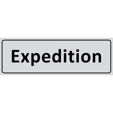 UniGraphics 6705342 Skylt Expedition, 225 x 80 mm