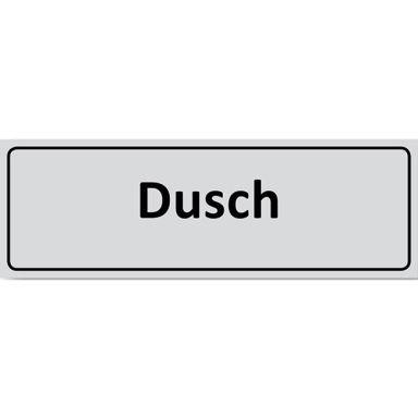 UniGraphics 6705349 Skylt Dusch, 225 x 80 mm