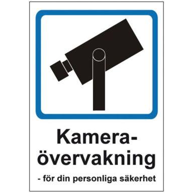 UniGraphics 6705416 Skylt Kameraövervakning, A5