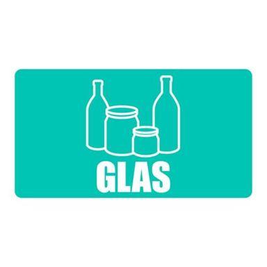 UniGraphics 3124125 Dekal glas, 180 x 100 mm