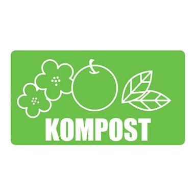 UniGraphics 3124126 Dekal kompost, 180 x 100 mm