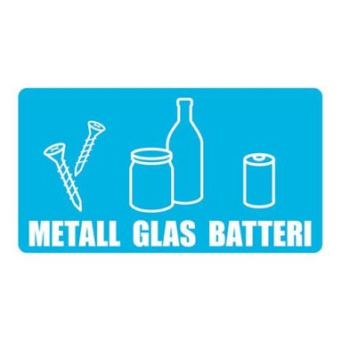 UniGraphics 3124128 Dekal metall/glas/batteri, 180 x 100 mm