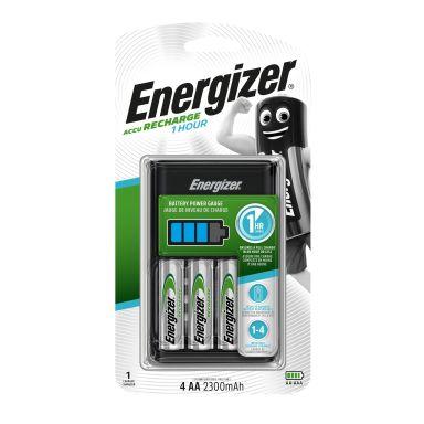 Energizer Accu Recharge Hurtiglader for AA/AAA