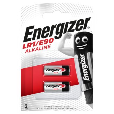 Energizer Alkaline LR1/E90 FSB2 Alkaliskt batteri 1,5 V, 2-pack