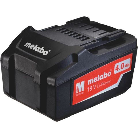 1110114 Metabo 18V Li-Power Batteri 4,0Ah