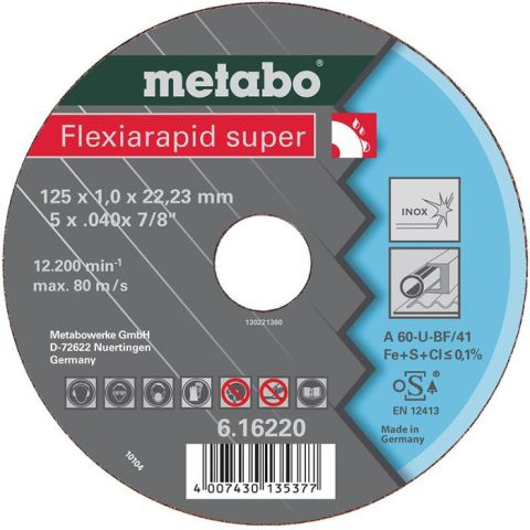 1110143 Metabo FLEXIRAPID Kapskiva