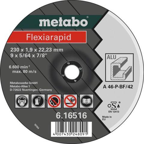 1110186 Metabo Flexiarapid Kapskiva för aluminium