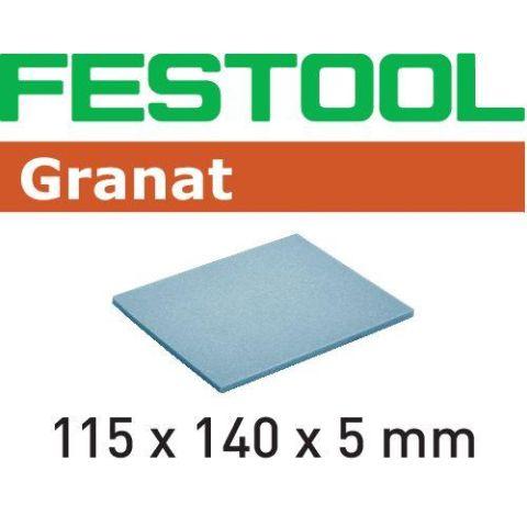 1120051 Festool EF GR Slipsvamp 115x140x5mm, 20-pack 500
